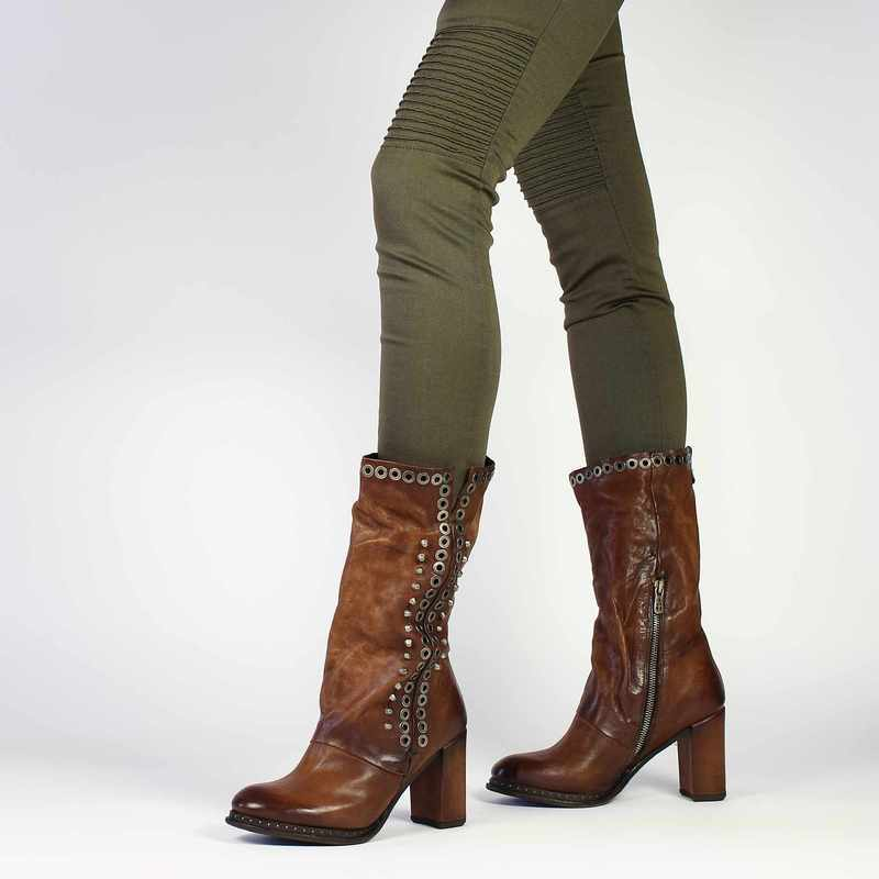 208301 Femme Bottes Chaussure Camel As98 Airstep 5673301 Pour Cuir EPPSqTY