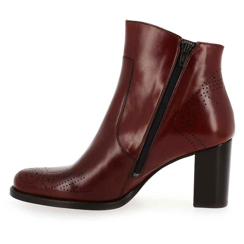 Rouge Boots Cuir Femme Pour Muratti Chaussure 5692401 Amelle YgqwxESzZ