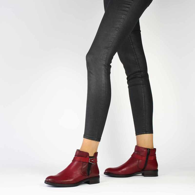 Chaussure Dorking 7685 TIERRA rouge couleur Rouge - vue 0