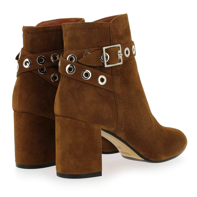 4825 Pitti Cuir Chaussure Camel Femme Pour 5732602 Nelly Velours Matteo Boots EFqzrfq7