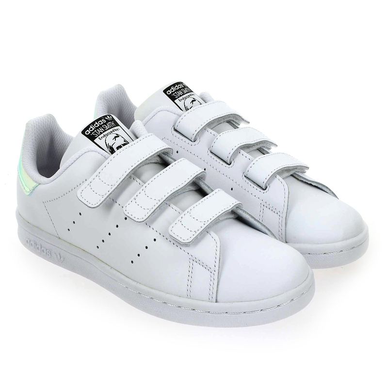 Chaussure Adidas Originals STAN SMITH CF C blanc couleur Blanc Multi - vue 0