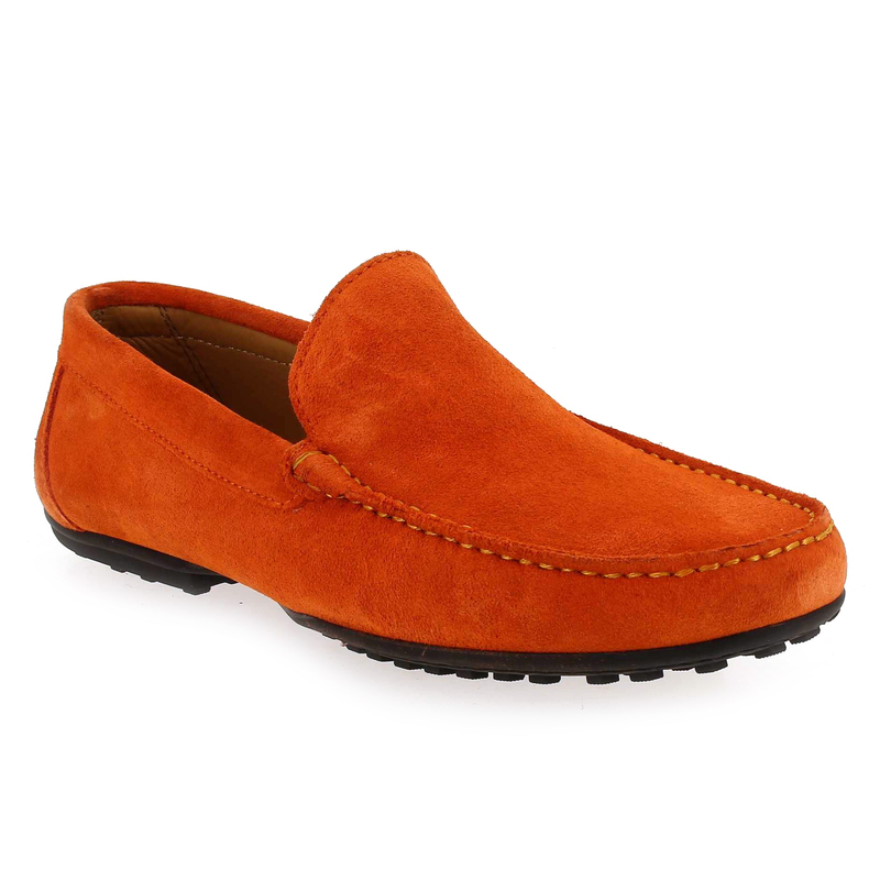 Mocassins Homme Baxton 93515 e19 orange Homme