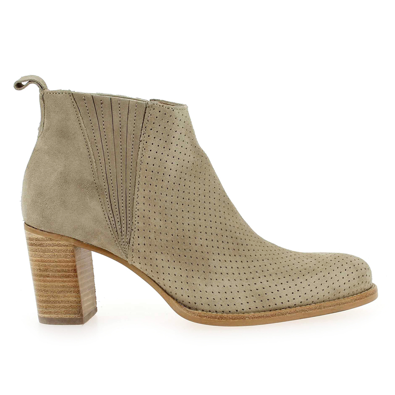 Chaussure Muratti s0249g beige couleur taupe - vue 1