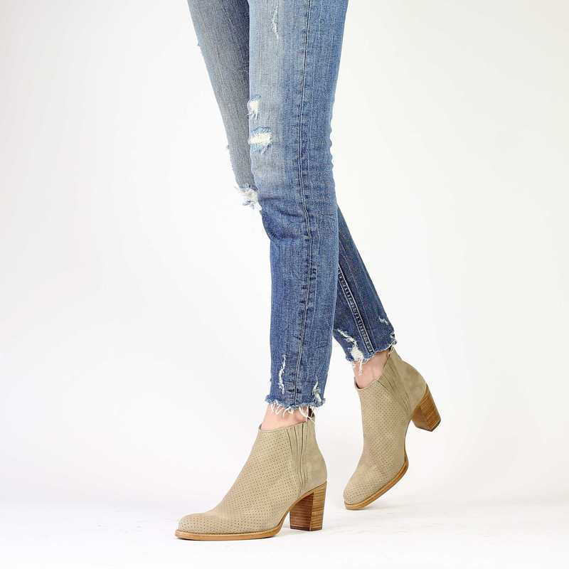 Chaussure Muratti s0249g beige couleur taupe - vue 0