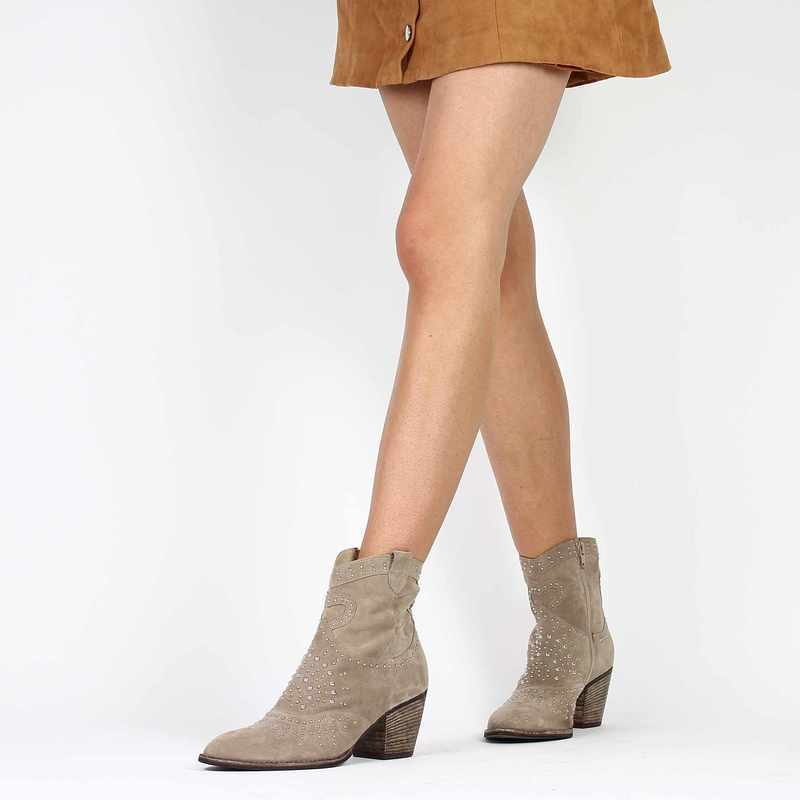 Chaussure Progetto Z115 beige couleur Taupe - vue 0