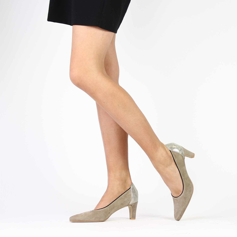 Chaussure Myma 3029 beige couleur Taupe - vue 0