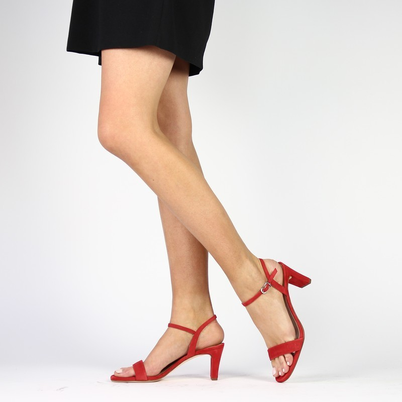 Chaussure Unisa MABRE rouge couleur Rouge - vue 0