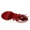 Chaussure AS98 - Airstep modèle 672007, Rouge - vue 4