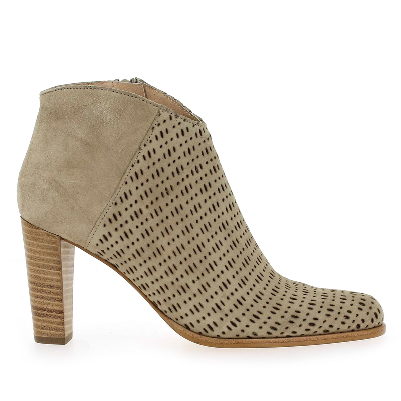 Chaussure Muratti S0217G beige couleur taupe - vue 1