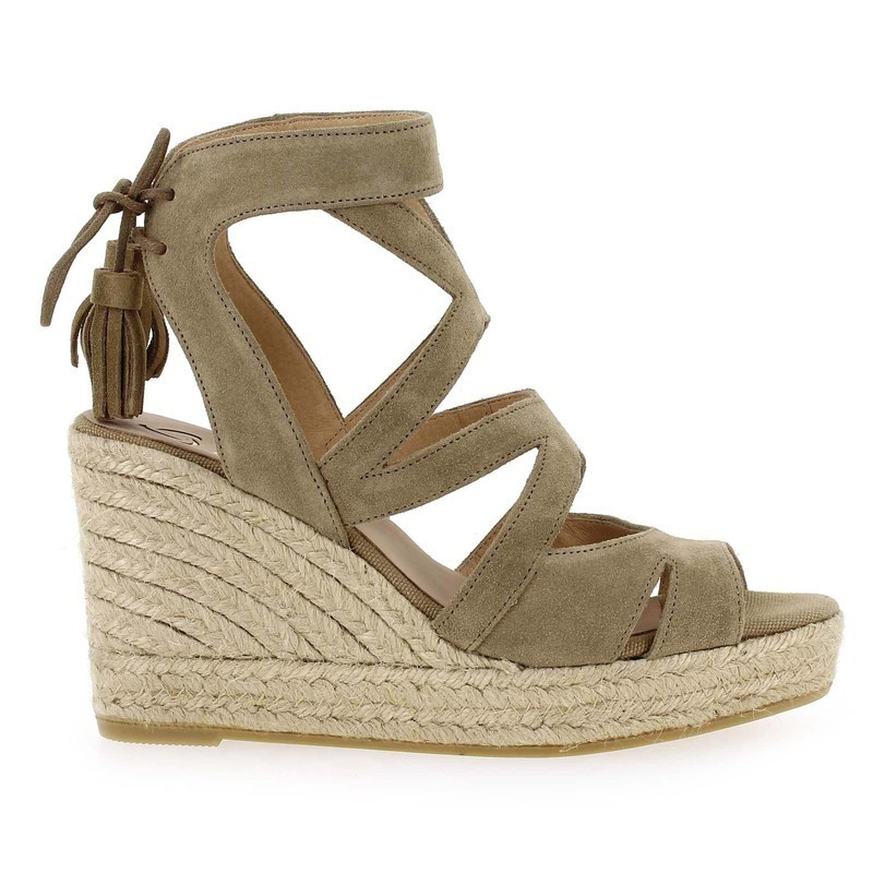 Chaussure Kanna INES beige couleur taupe - vue 1