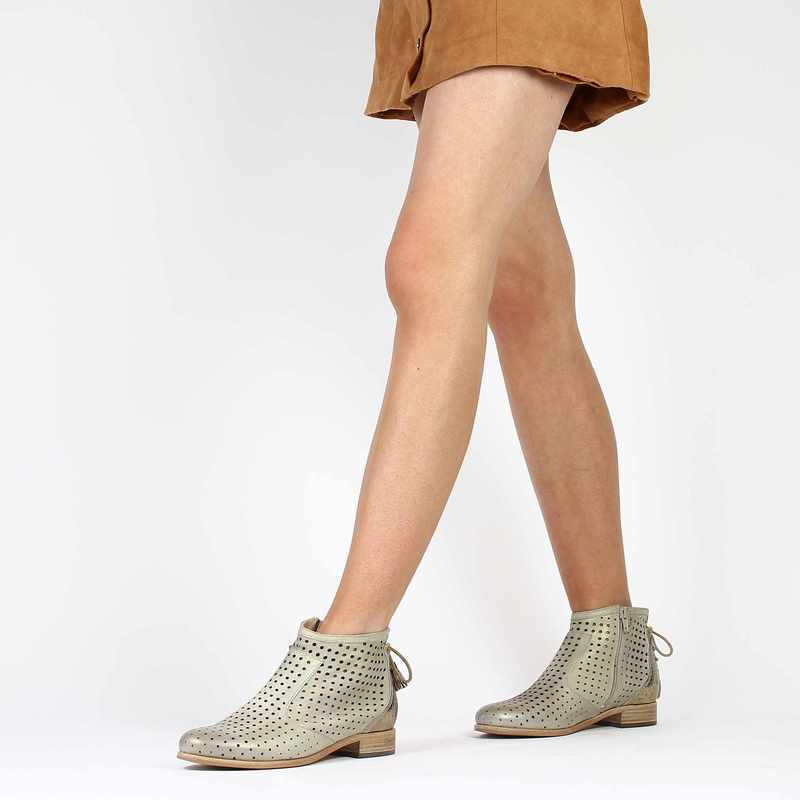 Chaussure Muratti S0201H gris couleur taupe - vue 0
