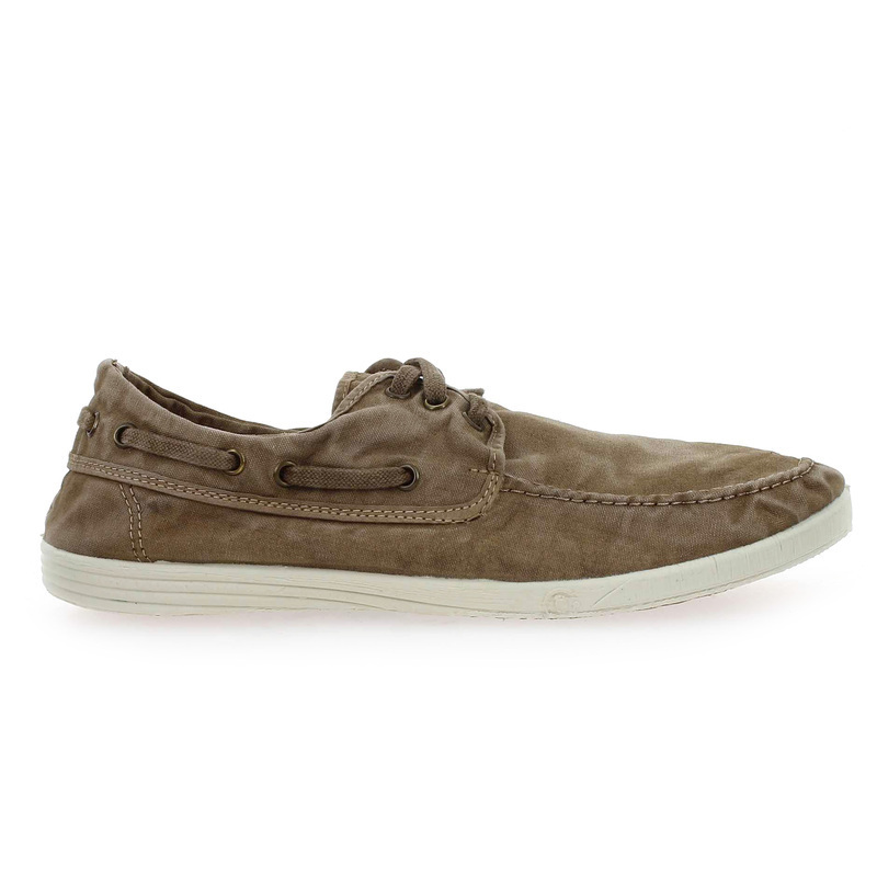 Chaussure Natural world 303 E gris couleur Taupe - vue 1