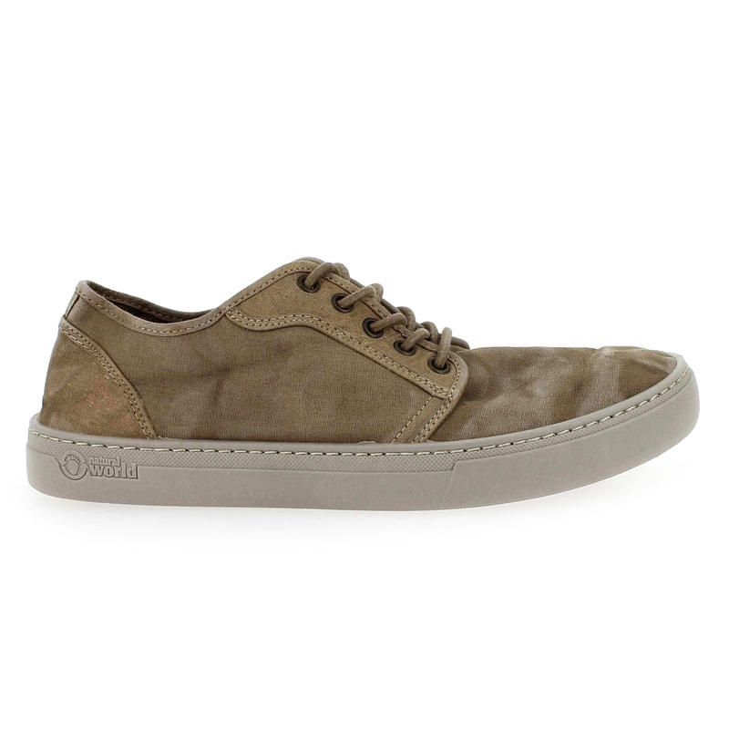 Chaussure Natural world 6602 gris couleur Taupe - vue 1