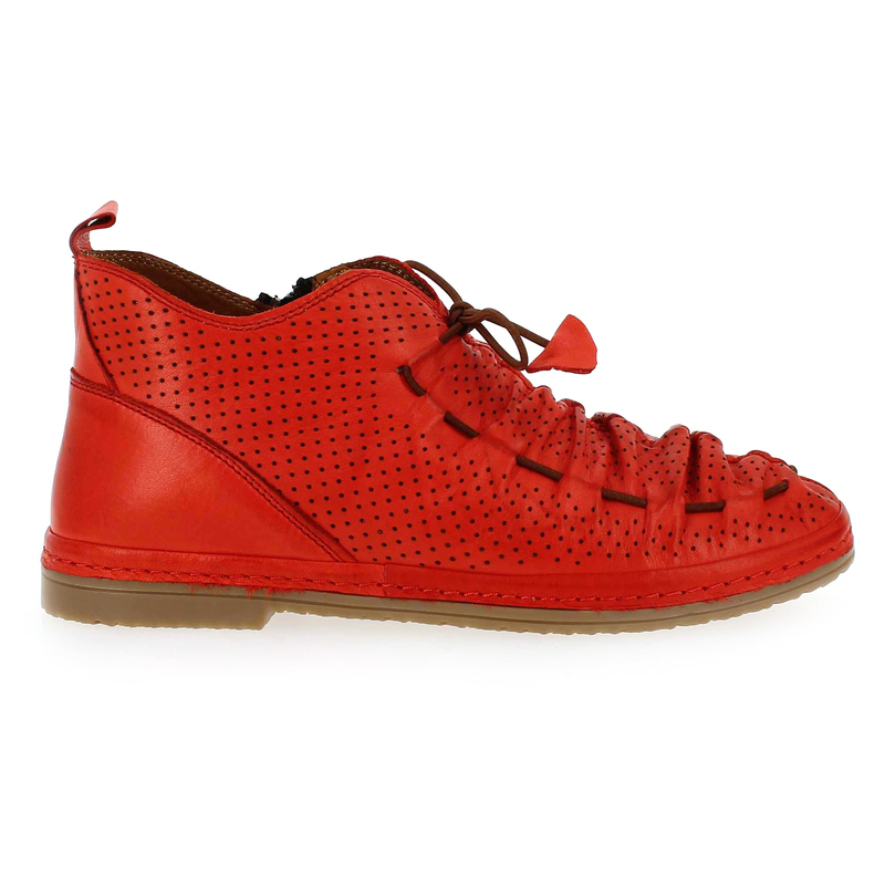 Chaussure Coco & Abricot v1208a rouge couleur rouge - vue 1