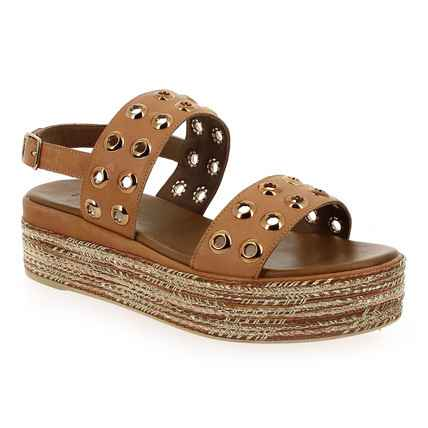 Chaussure Inuovo modèle 117013, Camel - vue 0