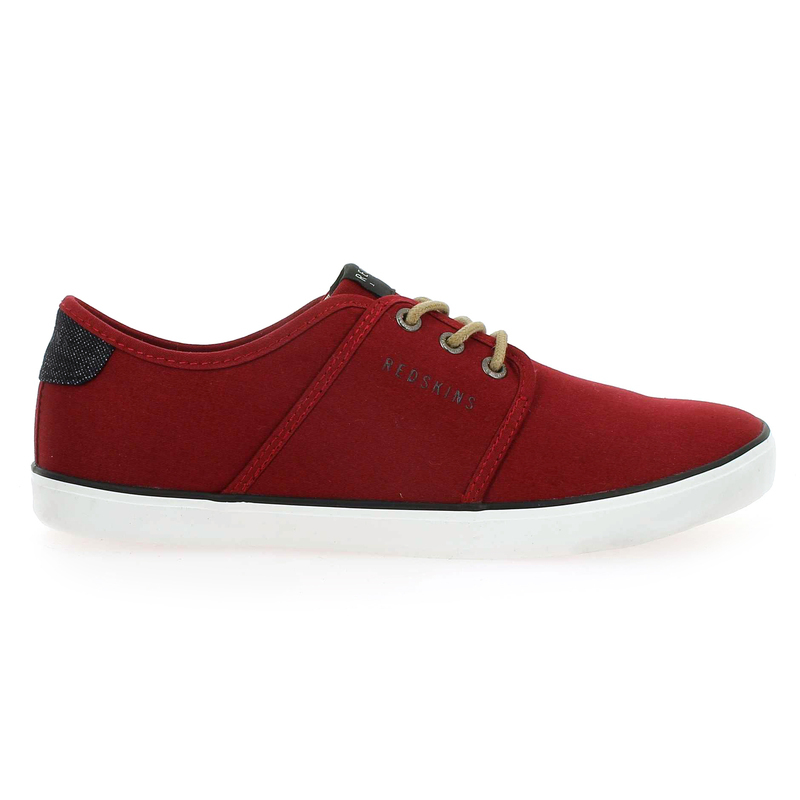 Chaussure Redskins nakat rouge couleur rouge - vue 1