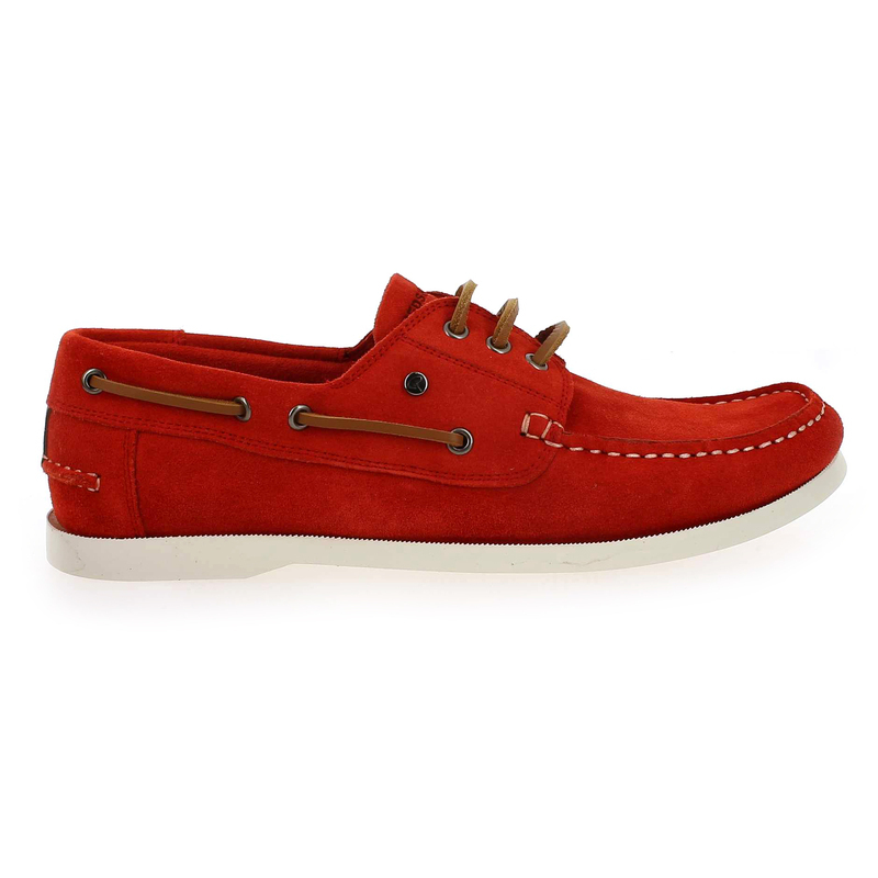 Chaussure Redskins ORLANDO rouge couleur velours - vue 1