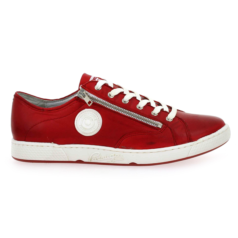 Chaussure Pataugas JAY N rouge couleur rouge - vue 1