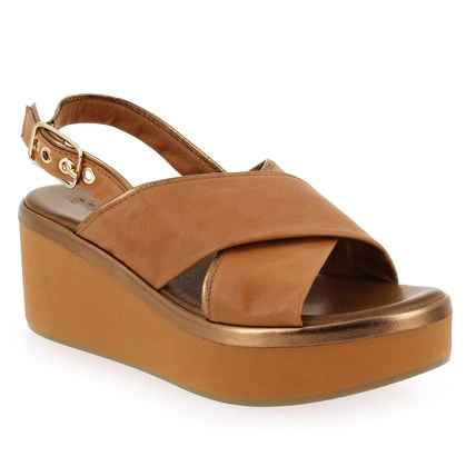 Chaussure Inuovo modèle 124009, Camel - vue 0