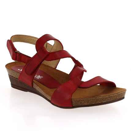 Chaussure Xapatan  modèle 2164, rouge - vue 0