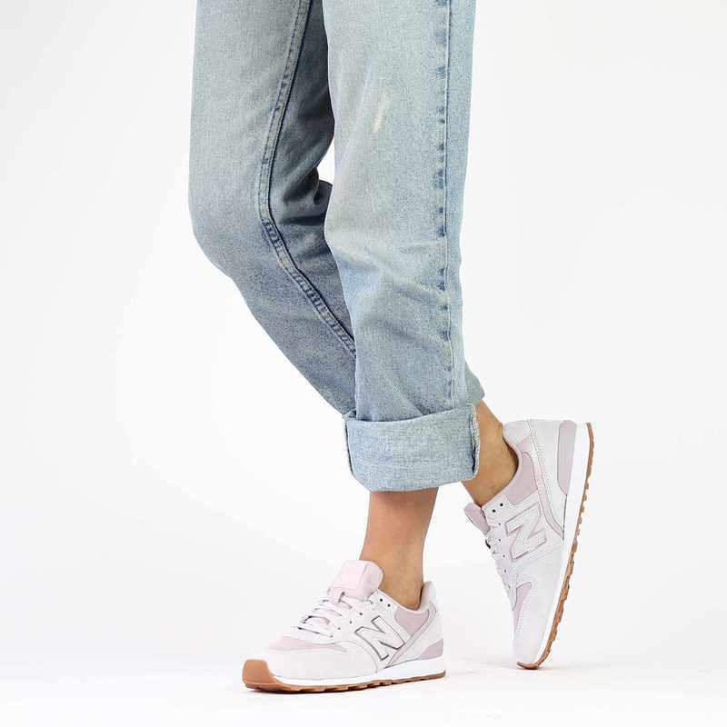 Chaussure New Balance WR996 rose couleur Rose pastel - vue 0