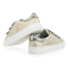 Chaussure No Name modèle ARCADE STRAPS GLOOM REPTIL, Or - vue 3