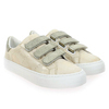 Chaussure No Name modèle ARCADE STRAPS GLOOM REPTIL, Or - vue 5
