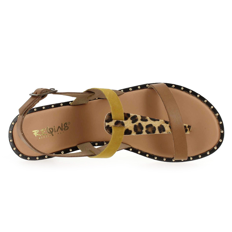 01 Chaussure Reqins Pour Dido 5830901 Femme Réf58309 Mix Chaussures Jaune eE9YWHID2