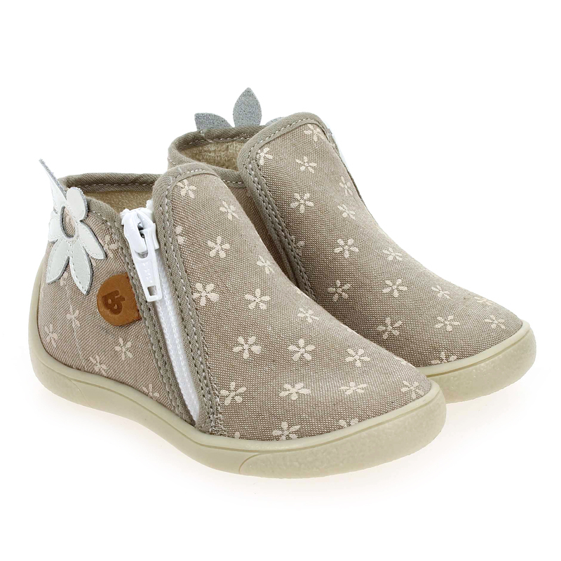 Chaussure Babybotte MAGNOLIA beige couleur Taupe - vue 0