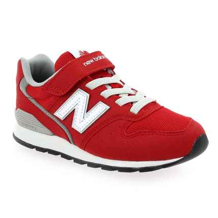 Chaussure New Balance modèle YV996M, rouge - vue 0