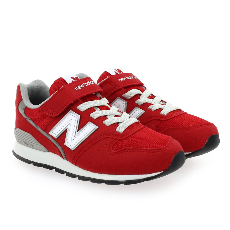 Chaussure New Balance YV996M rouge couleur rouge - vue 0