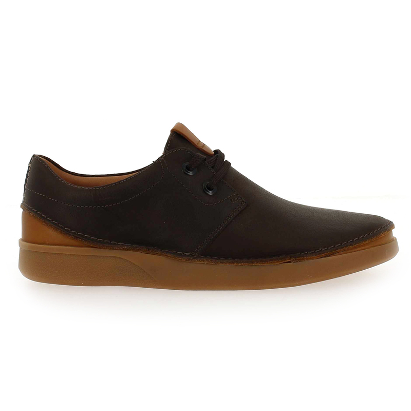Réf58353 02 Clarks 5835302 Lace Chaussures Marron Chaussure Pour Oakland Homme b6yIY7gvf