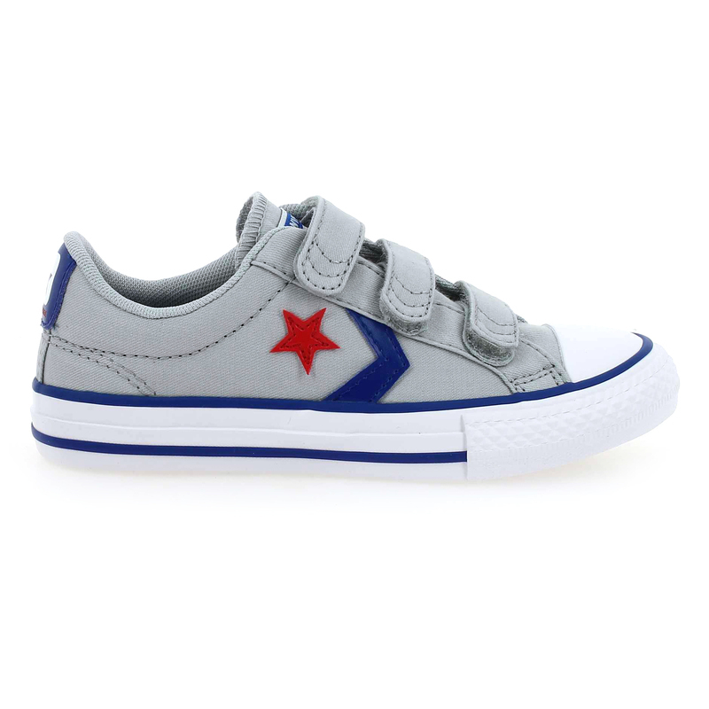 Chaussure Converse STAR PLAY OX 3V gris couleur gris - vue 1