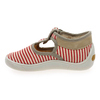 Chaussure Babybotte modèle MARIN, Rouge Taupe - vue 2