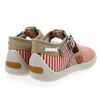 Chaussure Babybotte modèle MARIN, Rouge Taupe - vue 3