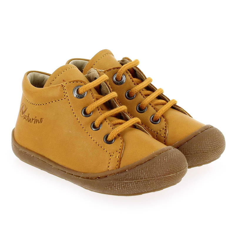 Chaussure Falcotto by Naturino cocoon jaune couleur jaune - vue 0
