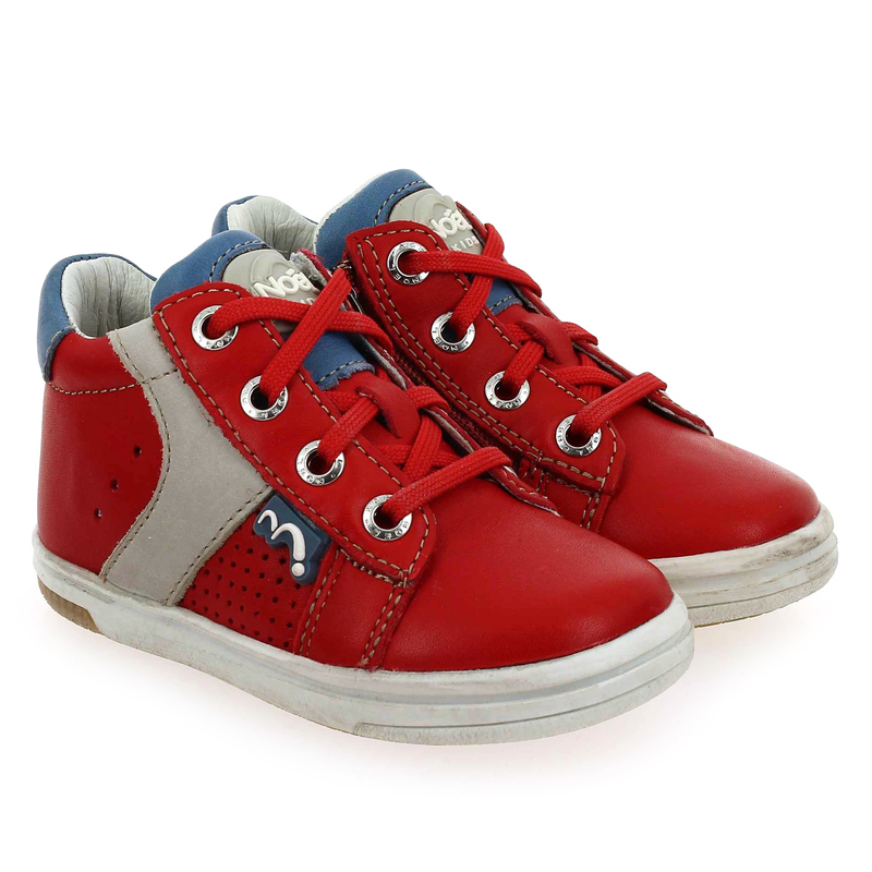 Chaussure Noël Kids  MINI MIMO rouge couleur rouge - vue 0