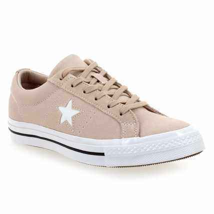 Chaussure Converse modèle ONE STAR OX W, Rose pastel - vue 0