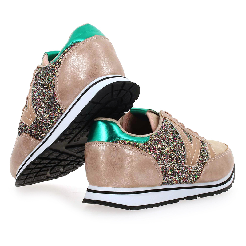 Chaussures Pour 01 Cometta Glitter Rose Chaussure Victoria Running Femme Réf57642 5764201 bYf76ygv