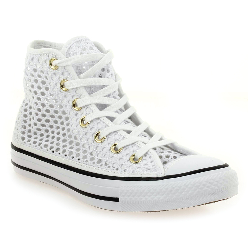 chaussures converse blanche femme