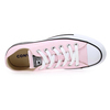 Chaussure Converse modèle CHUCK TAYLOR ALL STAR OX SEASONAL, Rose pastel - vue 4