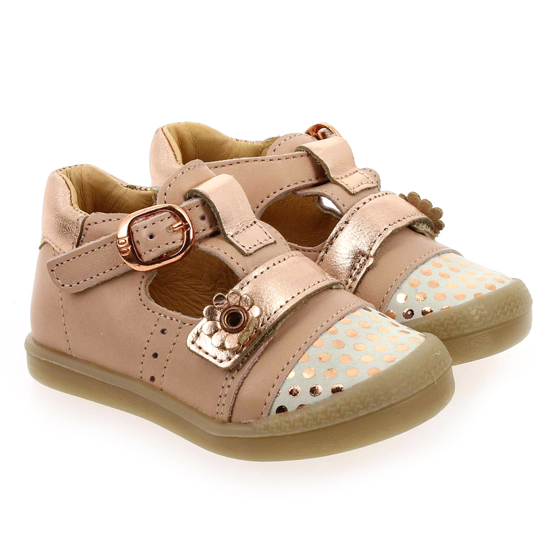 Chaussure Babybotte POPPY rose couleur rose - vue 0