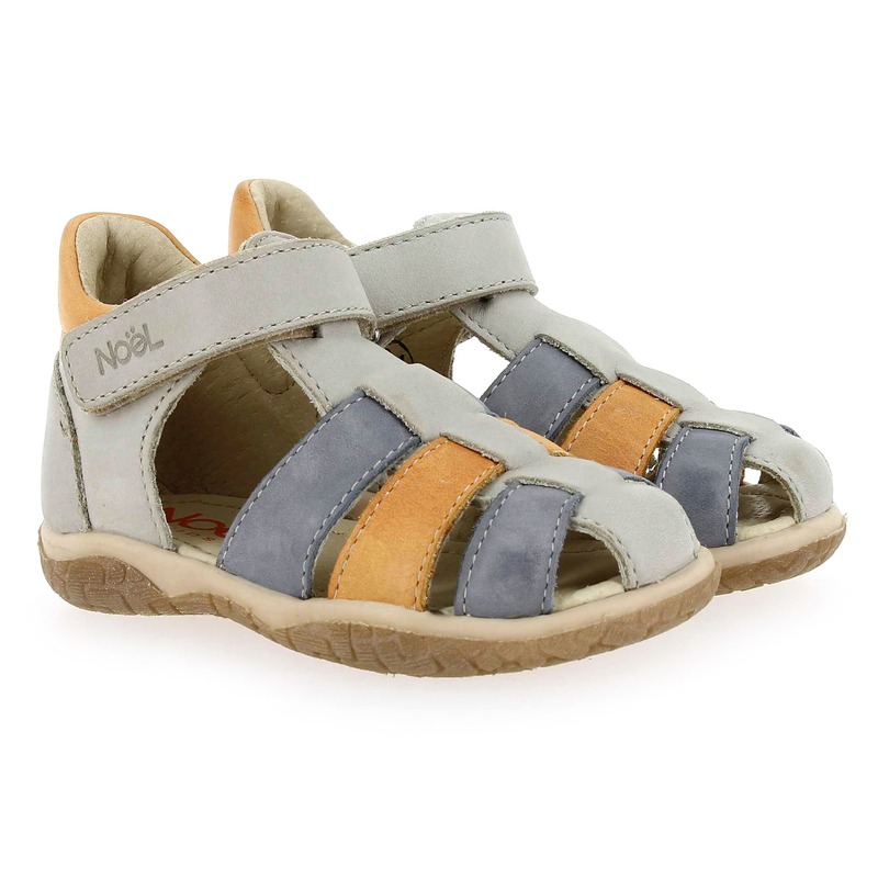 Chaussure Noël Kids  MINI TIN  gris couleur Gris Orange  - vue 0