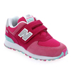 Chaussure New Balance modèle YV574, rose - vue 0