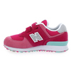 Chaussure New Balance modèle YV574, rose - vue 2