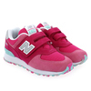 Chaussure New Balance modèle YV574, rose - vue 6