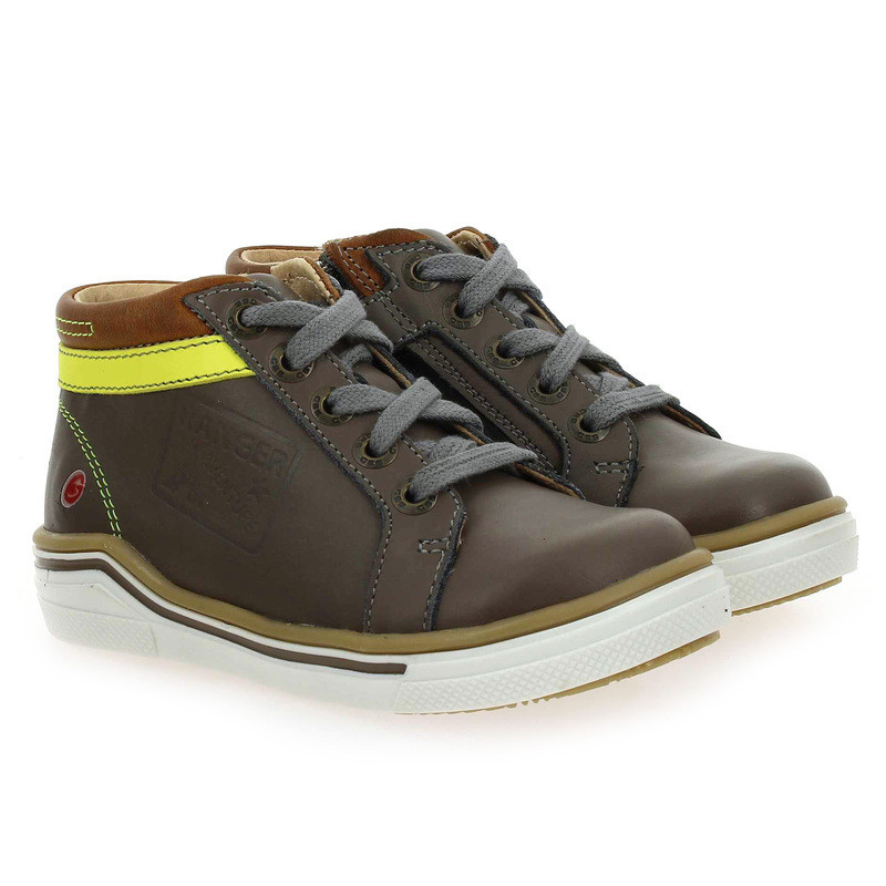 Chaussure GBB QUITO  gris couleur Taupe - vue 0