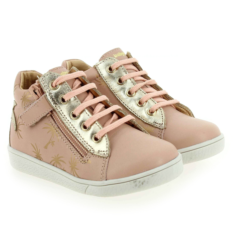 Chaussure Babybotte AUANIS rose couleur Rose pastel Or - vue 0