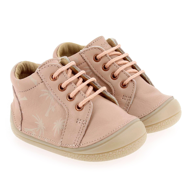 Chaussure Babybotte zowa rose couleur rose - vue 0