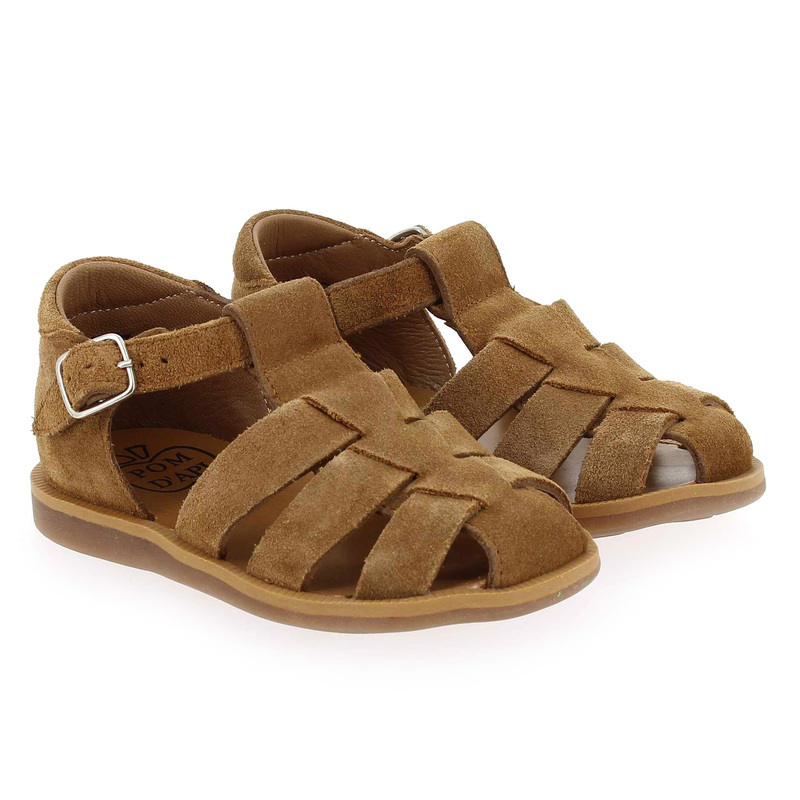 Chaussure Pom d'api POPPY DADDY camel couleur Camel - vue 0